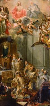 Mass for the Order of Trinitarians, 1666 by Don Juan Carreño de Miranda