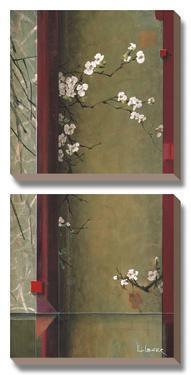 Blossom Tapestry I by Don Li-Leger