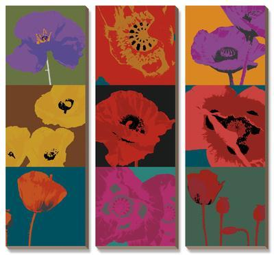 Pop Poppies by Don Li-Leger