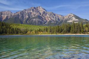 Patricia Lake and Pyramid Mountain, Jasper NP, Alberta, Canada. by Don Paulson