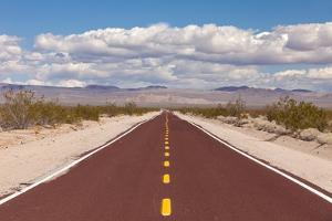Usa, California, Road near Randsburg by Don Paulson Photography