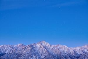 Usa, California, Sierra Mountains, Lone Pine Peak and Mount Whitney, Taken from Alabama Hills by Don Paulson Photography