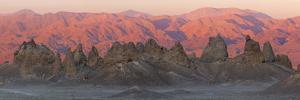 USA, California. Composite Panoramic of Trona Pinnacles by Don Paulson