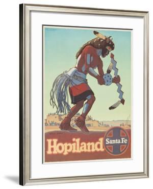 Santa Fe Railroad: Hopiland, c.1940's by Don Perceval