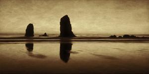 Pastel Evening on the Coast by Don Schwartz
