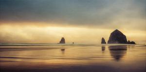 Schwartz - Haystack Sunset by Don Schwartz