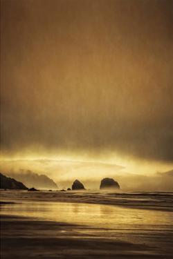 Schwartz - Sea Stacks at Sunset by Don Schwartz