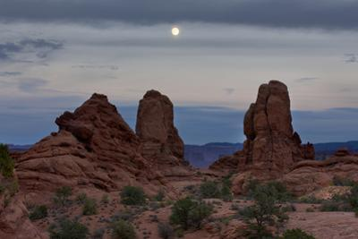 Moonrise, Arches National Park by Don Smith