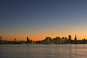 San Francisco Solstice Dusk by Don Smith
