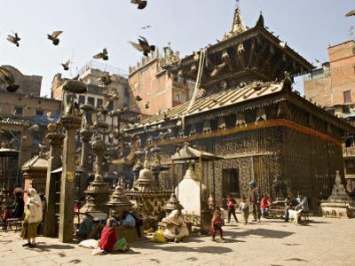Seto Machendranath Temple, Nepal by Don Smith