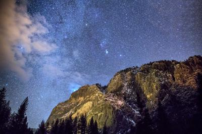 Starry Sky, Yosemite Valley by Don Smith