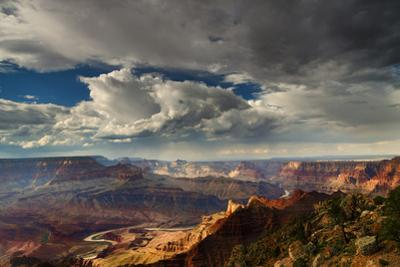 Storm Clouds over Grand Canyon by Don Smith