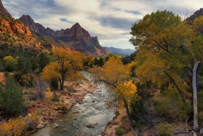 Virgin River and Watchman by Don Smith