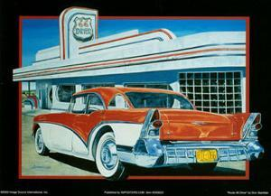 Route 66 Diner by Don Stambler