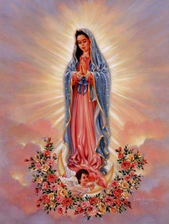 Our Lady Of Guadalupe by Dona Gelsinger