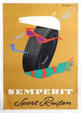 Semperit, Sport Reifen by Donald Brun