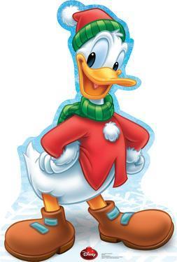 Donald Duck Holiday - Disney Lifesize Standup