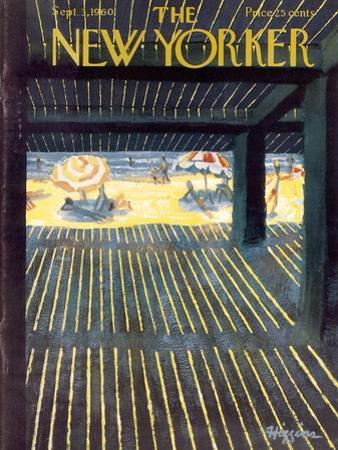 The New Yorker Cover - September 3, 1960 by Donald Higgins