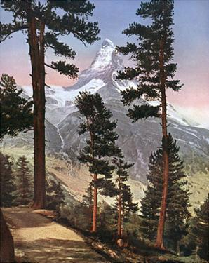 Alps, Matterhorn 1913 by Donald Mcleish