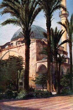 Jezzar Pasha Mosque, Acre, Palestine, C1930S by Donald Mcleish