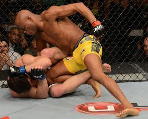 UFC 148: Jul 7, 2012 - Anderson Silva vs Chael Sonnen by Donald Miralle