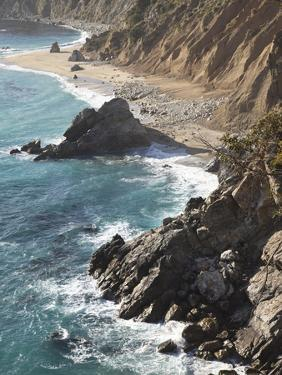 Rocky Stretch of Coastline in Big Sur, California, United States of America, North America by Donald Nausbaum