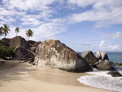 The Baths, Large Granite Boulders, Virgin Gorda, British Virgin Islands, West Indies, Caribbean
