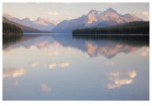 Maligne Lake Jasper National Park by Donald Paulson