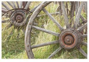 Wagon Wheels by Donald Paulson