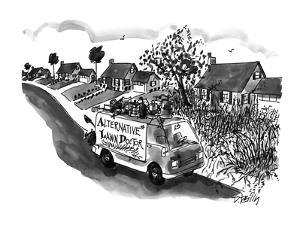 Alternative Lawn Doctor - New Yorker Cartoon by Donald Reilly