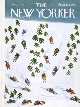The New Yorker Cover - February 27, 1971 by Donald Reilly