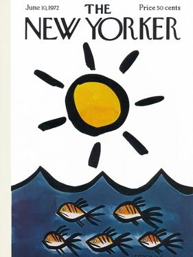 The New Yorker Cover - June 10, 1972 by Donald Reilly