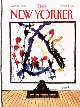 The New Yorker Cover - October 15, 1990 by Donald Reilly