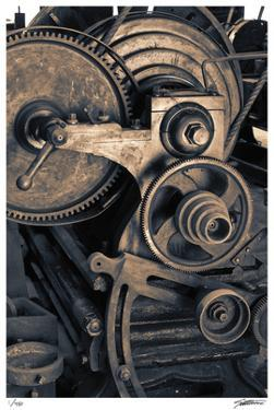 Lathe by Donald Satterlee