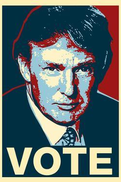 Donald Trump Vote Art