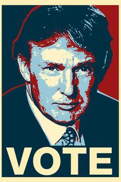 Donald Trump Vote Plastic Sign