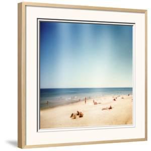 Designed Retro Photo: Sunny Day on the Beach by donatas1205