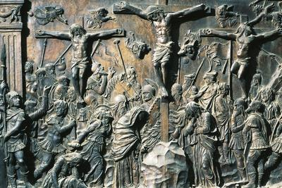 Crucifixion, Detail from the Left Pulpit