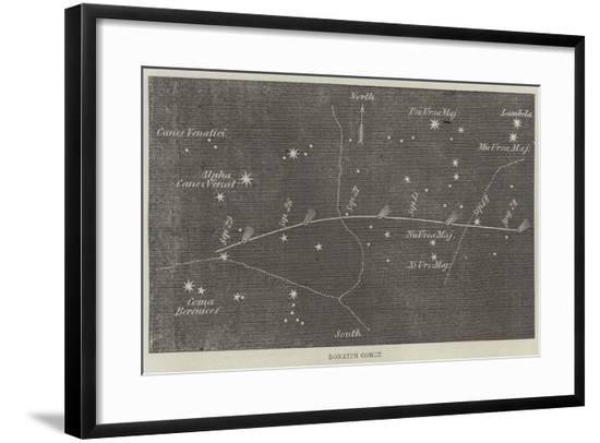 Donati's Comet--Framed Giclee Print