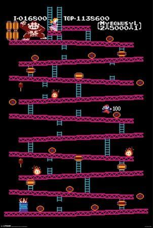 Donkey Kong - Level 1