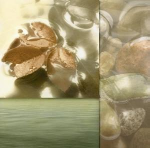 Zen Elements I by Donna Geissler