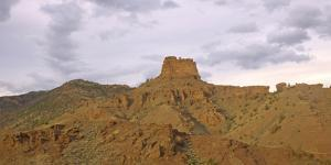Desert Landscape at the South Entrance to Yellowstone National Park by Donna O'Meara