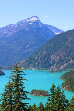 Diablo Lake in Washington's North Cascades National Park by Donna O'Meara