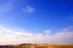 Landscape of Fossil Rich Soils in Badlands National Park, South Dakota, Usa by Donna O'Meara
