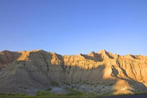 Rock Formation in Badlands National Park, South Dakota, Usa by Donna O'Meara