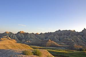 Rock Formations in Badlands National Park, South Dakota, Usa by Donna O'Meara