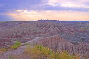 Rocky Landscape of Badlands National Park in South Dakota, Usa by Donna O'Meara