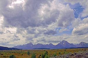 View of Grand Teton National Park in Wyoming, Usa by Donna O'Meara