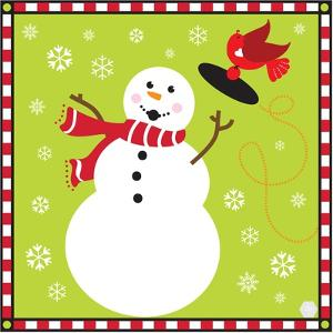 Snowman I by Donna Slade
