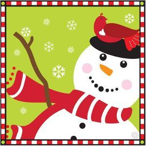 Snowman II by Donna Slade